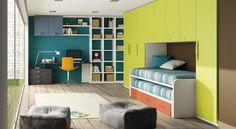 Cuartos peque os estrat gicamente organizados buscar con - Como decorar un cuarto juvenil femenino ...