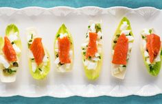 Smoked Salmon & Egg Canapes from our newsletter -- Need another super simple crash stash snack for Phase 2? These smoked salmon and egg white quick bites pack a powerful protein punch.