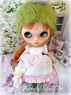 Vestido  para blythe pullip monster high o muñecas de tamaño