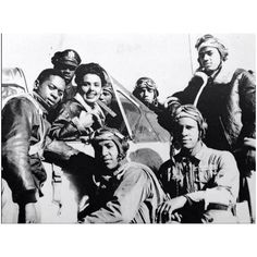 Lena Horne with the Tuskegee Airman