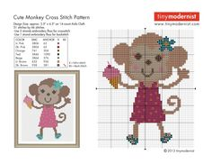 Free Cross Stitch Patterns from tinymodernist.com