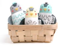 Handcrafted soft toys - Grigrin Plastic Laundry Basket, Little Ones, Baby Shoes, Bird, Pillows, Toys, Toy, Cushions, Games