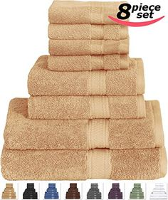 Luxury Hotel Amp Spa Set Of 4 Bath Towels Quot Drift Wood Dobby