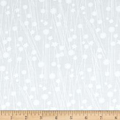 This 108'' wide cotton print fabric is perfect for quilt backing, curtains, duvet covers and more.  Colors include white printing on white fabric.