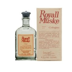 Royall Muske Of Bermuda By Royall Fragrances For Men. Cologne Spray 4.0 Oz ( Aftershave & Cologne ). by Royall Fragrances. Save 19 Off!. $33.91. Packaging for this product may vary from that shown in the image above. Launched by the design house of Royall Fragrances in 1978 ROYALL MUSKE OF BERMUDA Cologne is a scent of an exquisite aromatics and musk fragrance.