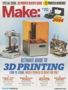Make: Ultimate Guide to 3D Printing 2014 by Mark Frauenfelder http://www.amazon.com/dp/1457183021/ref=cm_sw_r_pi_dp_DDqAub0DAJ41V