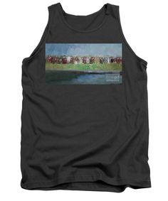 Tank Top - Abstract Landscape 1526