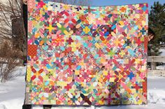 Love this quilt and the story behind it is awe inspiring.