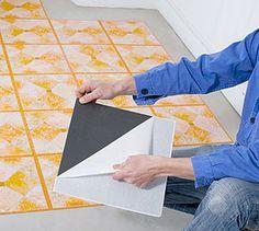 M s de 1000 ideas sobre pisos en mosaico en pinterest for Comprar losetas vinilicas pared