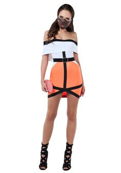 Women's Silent One Prisoner Costume - FOREVER HALLOWEEN Halloween Costumes For Teens, Costumes For Women, Halloween Festival, Look At You, Belted Dress, Sexy Women, Stylish, Mystery, Hannibal Lecter