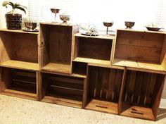 Vintage Wood Crate Storage by Sanctuary-Studio, via Flickr