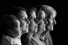 Five generations by Laurent Jobert