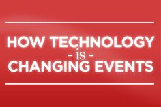How Technology is Changing Events [Infographic]. The before and after on how technology is making a difference to events.
