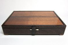 Document Box, Louis Cubes - Wenge & Blackwood | Bungendore Wood Works Gallery