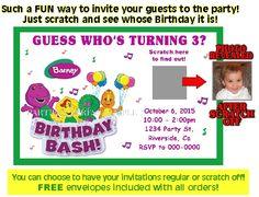 Scratch off Invitati