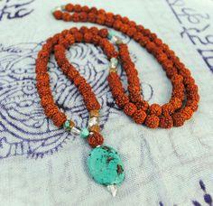 The Meditation Mala - Turquoise. via Etsy.
