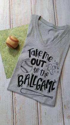 Baseball mom: take me out to the ballgame, major league, little league, baseball shirt, baseball game; PLUS SIZE available up to 4x