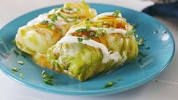 Video for delish low carb enchiladas