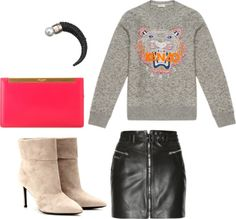 """saint laurent + givenchy + kenzo"" by zoeelysia on Polyvore"
