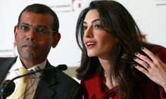 Mohamed Nasheed, released from prison to receive treatment, also hits out at Cherie Booth for representing government