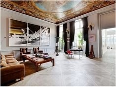 "Vera Lutter photograph in Parisian apartment…Gorgeous! ""le sigh"""