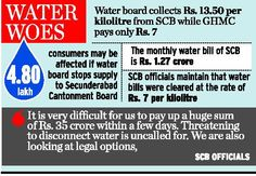 Cantonment taps may go dry