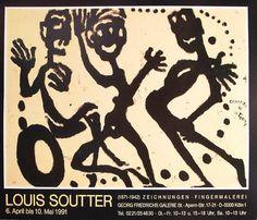 Louis Soutter Original Vintage Collectible by ValueVintagePrints