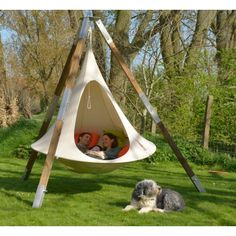 Cacoon Hängezelt Double weiß by Cacoon Cacoon… Outdoor Fun, Outdoor Spaces, Outdoor Living, Outdoor Decor, Outdoor Projects, Home Projects, Cacoon Hammock, Play Houses, The Great Outdoors