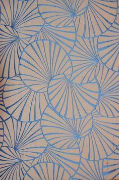 Maison & Objet 2015 / Papier peint Nymphéas (Maison Thevenon)