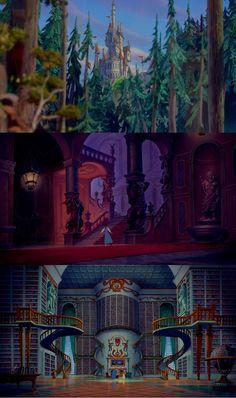Disney Magic, Disney Art, Disney Movies, Disney Pixar, Disney Princess Challenge, Spirited Away Poster, Kane Wwe, Beast's Castle, Pixie Hollow