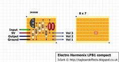 Guitar FX Layouts: Electro Harmonix LPB1 with trimmer