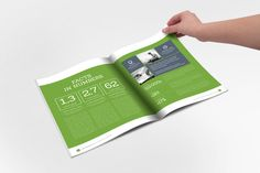 Annual Report Clean Indesign Brochure on Behance