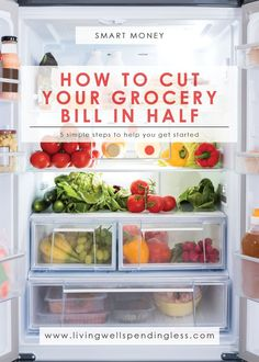 How to Cut Your Grocery Bill in Half | Save Money on Groceries | Money Saving Tips | Spend Less on Groceries