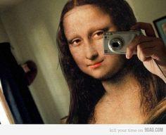 Teenager Mona Lisa