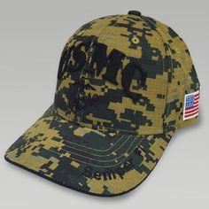 fa82546a23860 Usmc Ega Flag Woodland Camo Hat Marine Outfit