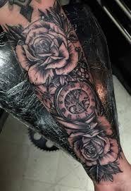 Resultado de imagem para Watch tattoo on forearm