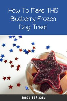 Ready for another delicious frozen dog treat that you can enjoy too? Today we're whipping up a tasty strawberry and blueberry frozen dog treat! Dog Treat Recipes, Dog Food Recipes, Frozen Dog Treats, Best Dog Food, Homemade Dog Treats, Blueberry, Peanut Butter, Berries, Easy Meals