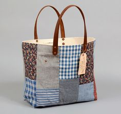 SS13 STANLEY & SONS TOTE BAG PATCHWORK