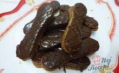 Likérové jazýčky v čokoláde Christmas Candy, Christmas Cookies, Amazing Cakes, Food And Drink, Sweets, Chocolate, Cooking, Ethnic Recipes, Weddings