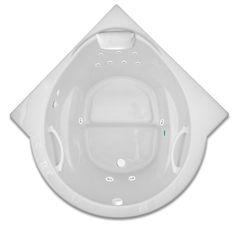 48 inch corner tub. Paradise 4848 4 Foot 48 Inch Drop In One Person Corner Whirlpool Bathtub  Combination Soaking And Air Tub Denver Tubs Ottofond Miami Bathtub LxWxD 125x125x58 Cm 50 X50 X23