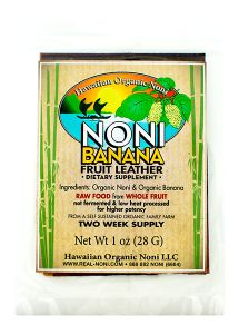 Noni Fruit Leather This stuff is incredible! I was instructed how this could increase my health. At first I didn't believe my uncle when they he me. But I tried some and WOW was I ever thrilled! First the juice tasted refreshing, and secondly it acted like they said it would! I felt better within a couple of days, and since then I have not been sick. I've been a regular user of this noni juice now for 5 years and have not had the symptoms of a cold or flu in that time! My body is stronger…