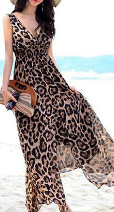 39 Best Leopard print dresses images  a530a3361a