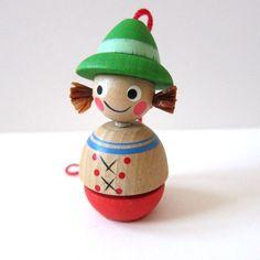Steinbach Volkskunst Made in Germany Wooden Ornament Christmas Figure German