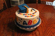 Kindergarten/preschool graduation cake
