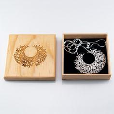 Nervous System  makes unique, interesting jewelry pieces.
