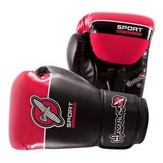 Hayabusa Sport 8oz Boxing Gloves In Black/Coral