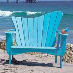 Wave Settee - Patio Furniture - Outdoor Furniture - Furniture - PoshLiving