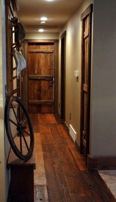 Repurposed Wood, Beautiful!