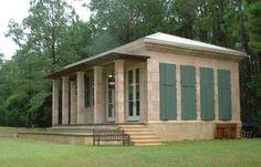 Cinder Blckhouse Concrete Block House Small Es Cottages Hurricane Proof