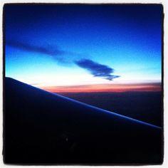 Surprising Cloud before Dawn @ Hossegor Sky